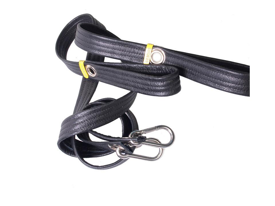 Hondenriem-zwart